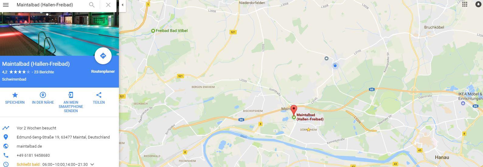Kraulen lernen Rhein-Main