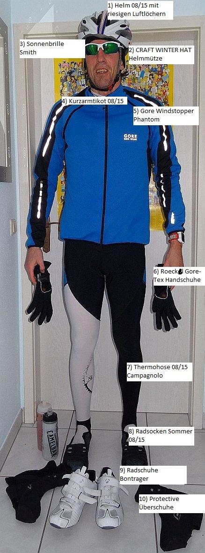 Ausrüstung: Radfahren im Winter