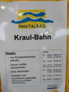 Kraulen in Hanau und Maintal