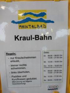 Kraulen in Hanau und Maintal
