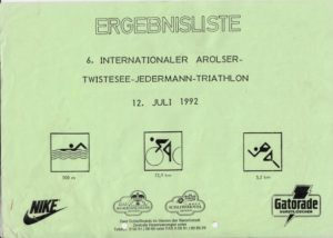 Arolsen Jedermann-Triathlon