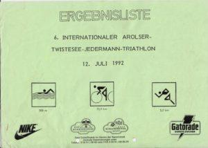 Arolsen Jedermann-Triathlon