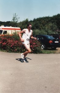 Triathlon 90er Jahre. Twistesee Bad Arolsen Wetterburg Peter Schneider