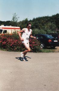Triathlon 90er Jahre. Twistesee Bad Arolsen Wetterburg Peter Schneider