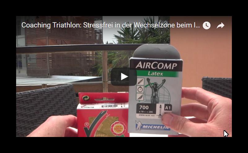 Triathlon Ironman Coaching – Tipps und Tricks- Schwalbe Michelin Vittoria Latex