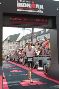 Ironman Germany 2017 Ziel Römer