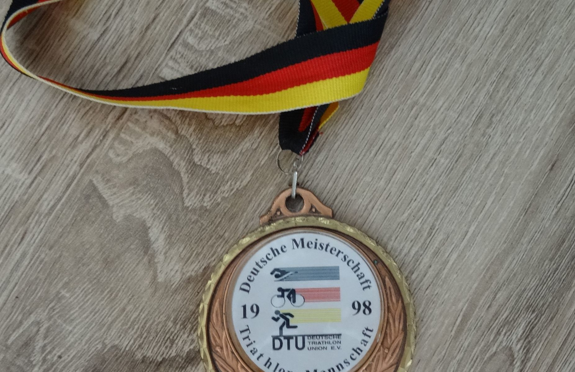 Medaille DM Kulmbach 1998