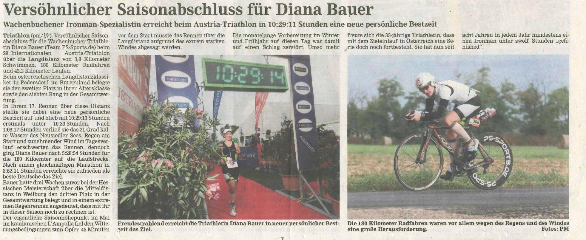 Austria Triathlon Podersdorf_Maintaler Tagesanzeiger