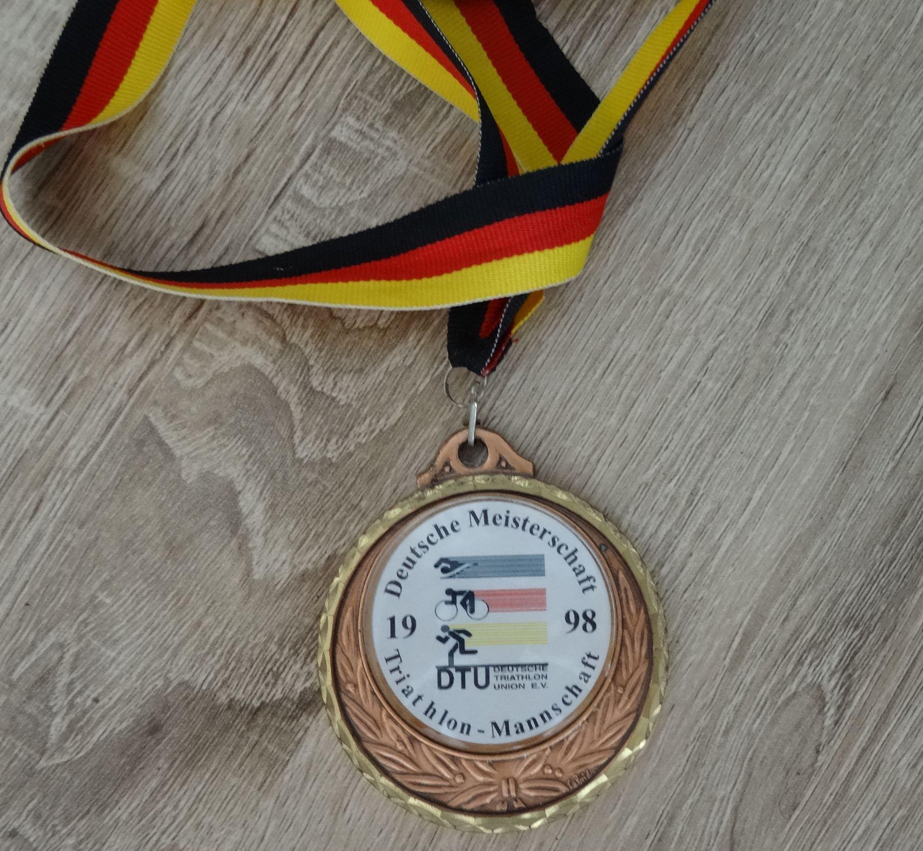 Medaille DM Kulmbach 1998
